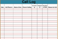 Sales Call Report Template Free Also Daily Excel Unique intended for Sales Call Reports Templates Free