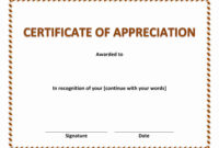 Sales-Certificate-Of-Recognition with Sales Certificate Template