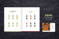 Sales & Image Brochure – Fine Wine. Brochure Templates pertaining to Wine Brochure Template