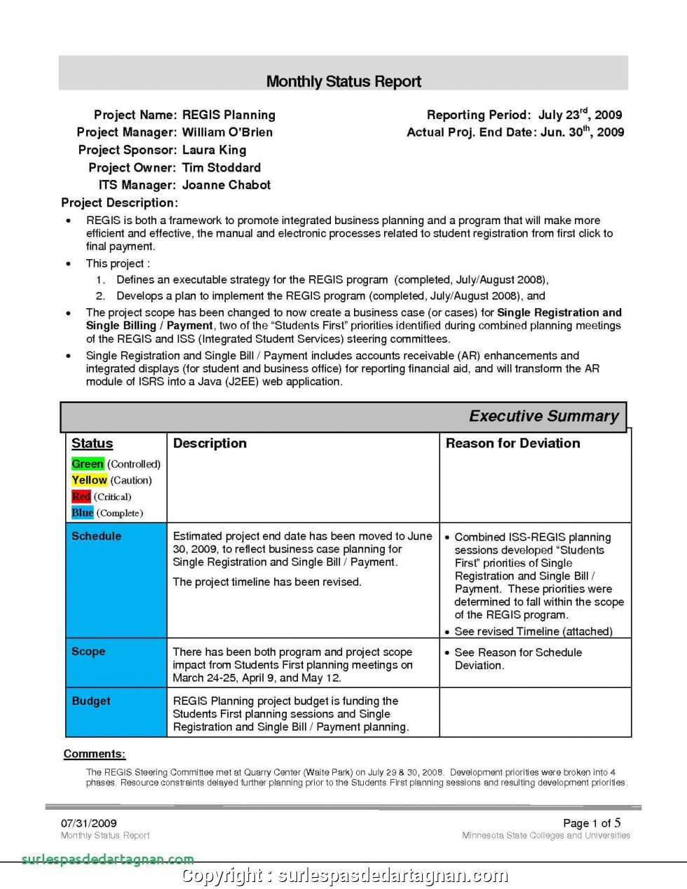 Sales Manager Monthly Report Templates - Atlantaauctionco with How To Write A Monthly Report Template