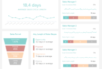Sales Report Examples & Templates For Daily, Weekly, Monthly for Sales Manager Monthly Report Templates