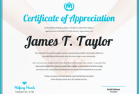 Sample Certificate Of Appreciation For Service Template with regard to Long Service Certificate Template Sample