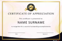 Sample Certificate Of Appreciation For Service Volunteer pertaining to Volunteer Certificate Templates