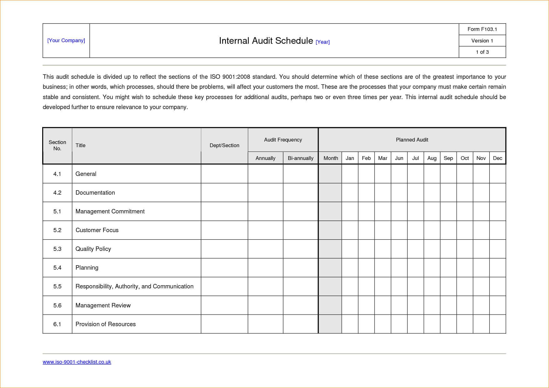 Sample Internal Audit Report Template Call Center Floor in Iso 9001 Internal Audit Report Template