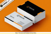 Sample Personal Business Cards Free Card Template Psd within Free Personal Business Card Templates