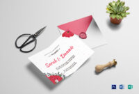 Sample Wedding Invitation Card Template within Sample Wedding Invitation Cards Templates