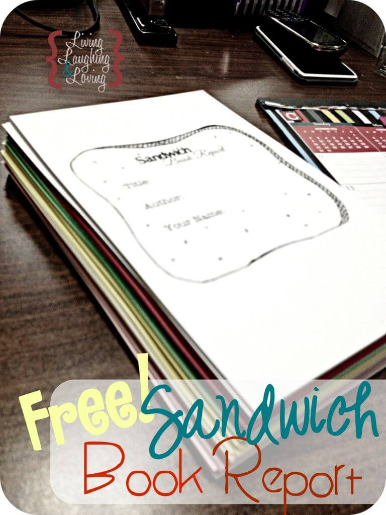 "Sandwich Book Report"" Template For A Book About A Famous inside Sandwich Book Report Printable Template"