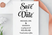 Save The Date Template, Save The Date Printable, Save The with regard to Save The Date Cards Templates