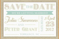 Save The Date Template Word Authorization Letter Pdf 28+ throughout Save The Date Template Word