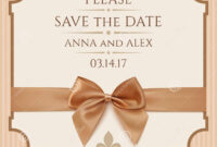 Save The Date, Wedding Invitation Card Stock Illustration regarding Save The Date Cards Templates