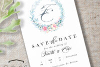 Save The Date with regard to Save The Date Cards Templates