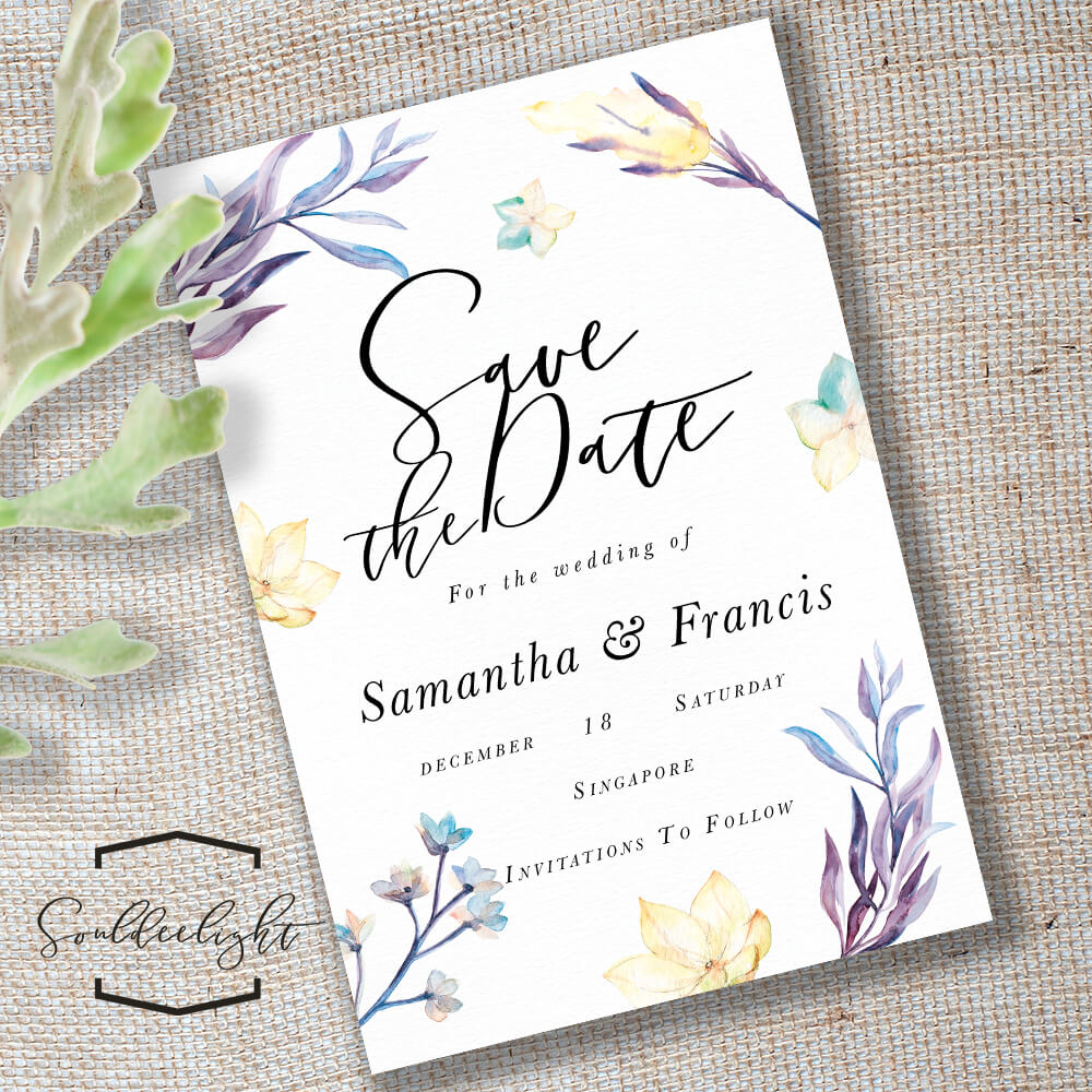 Save The Date with Save The Date Cards Templates