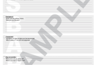Sbar Template – Fill Online, Printable, Fillable, Blank in Sbar Template Word