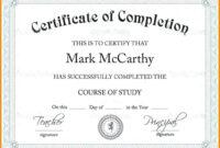 Scholarship Certificate Template | Template Business Format for Scholarship Certificate Template Word