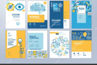 School Brochure Designs | Set Brochure Design Templates throughout Brochure Design Templates For Education