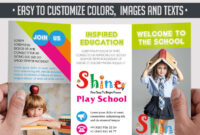 School – Free Psd Tri Fold Psd Brochure Template On Behance Regarding Play School Brochure Templates