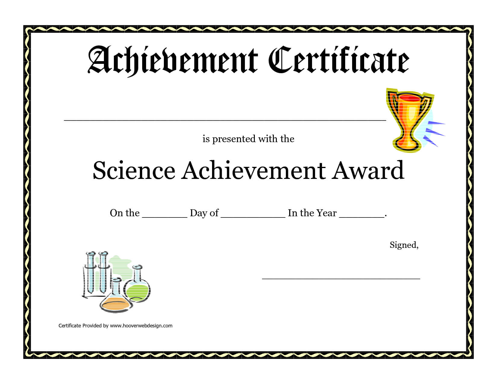 Science Fair Award Certificate Award Certificate Download with regard to Free Printable Student Of The Month Certificate Templates