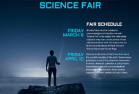 Science Fair Event Poster Template – Venngage for Science Fair Banner Template