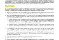 Scientific Paper Template Word 2010 – Atlantaauctionco Within Scientific Paper Template Word 2010