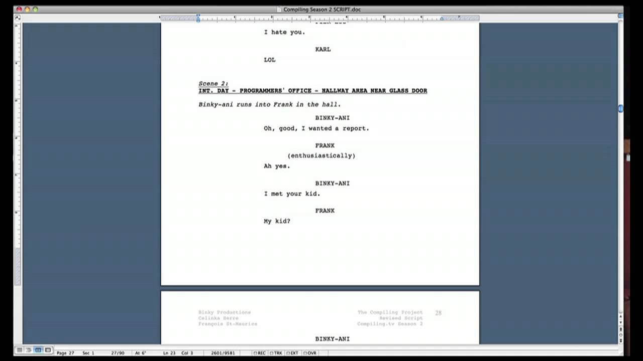 Script Formatting Tips (How To Format A Screenplay In Microsoft Word) Regarding Microsoft Word Screenplay Template