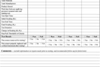 Secondary Containment Testing Report Form – Pdf pertaining to Hydrostatic Pressure Test Report Template