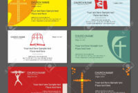 Set Christian Business Cards. For The Church, The Ministry, The.. with regard to Christian Business Cards Templates Free