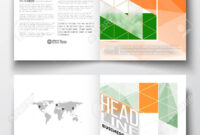 Set Of Business Templates For Brochure, Magazine, Flyer, Booklet.. pertaining to Ind Annual Report Template