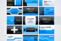 Set Of Modern Business Cards Templates. Futuristic Techno Business.. throughout Advertising Cards Templates
