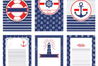 Set Of Nautical And Marine Banners And Flyers. Templates With.. inside Nautical Banner Template