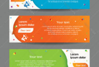 Set Of Web Banner Templates In Website Banner Templates Free Download