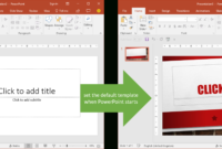 Set The Default Template When Powerpoint Starts | Youpresent for Where Are Powerpoint Templates Stored