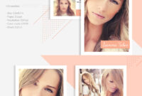 Sienna Taber – Modeling Comp Card Corporate Identity Template in Download Comp Card Template