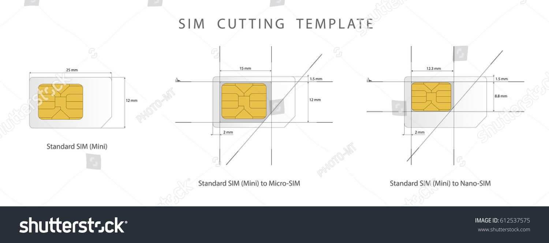 Sim Card Cut Template Pdf Intended For Sim Card Template Pdf With Regard To Sim Card Template Pdf