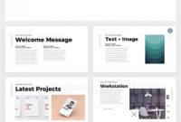 Simple And Clean Powerpoint Template – Free Ppt Theme inside Biography Powerpoint Template
