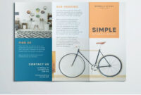 Simple Tri Fold Brochure   Design Inspiration   Graphic with Adobe Indesign Tri Fold Brochure Template