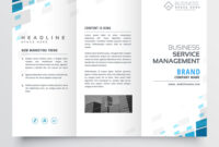Simple Trifold Business Brochure Template Design regarding Free Tri Fold Business Brochure Templates