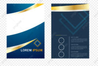Single Page, Fashion Single Page, Geometric Leaflet, Flyer within Single Page Brochure Templates Psd