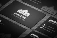 Sleek Real Estate Business Card – Full Preview | Free with Real Estate Business Cards Templates Free
