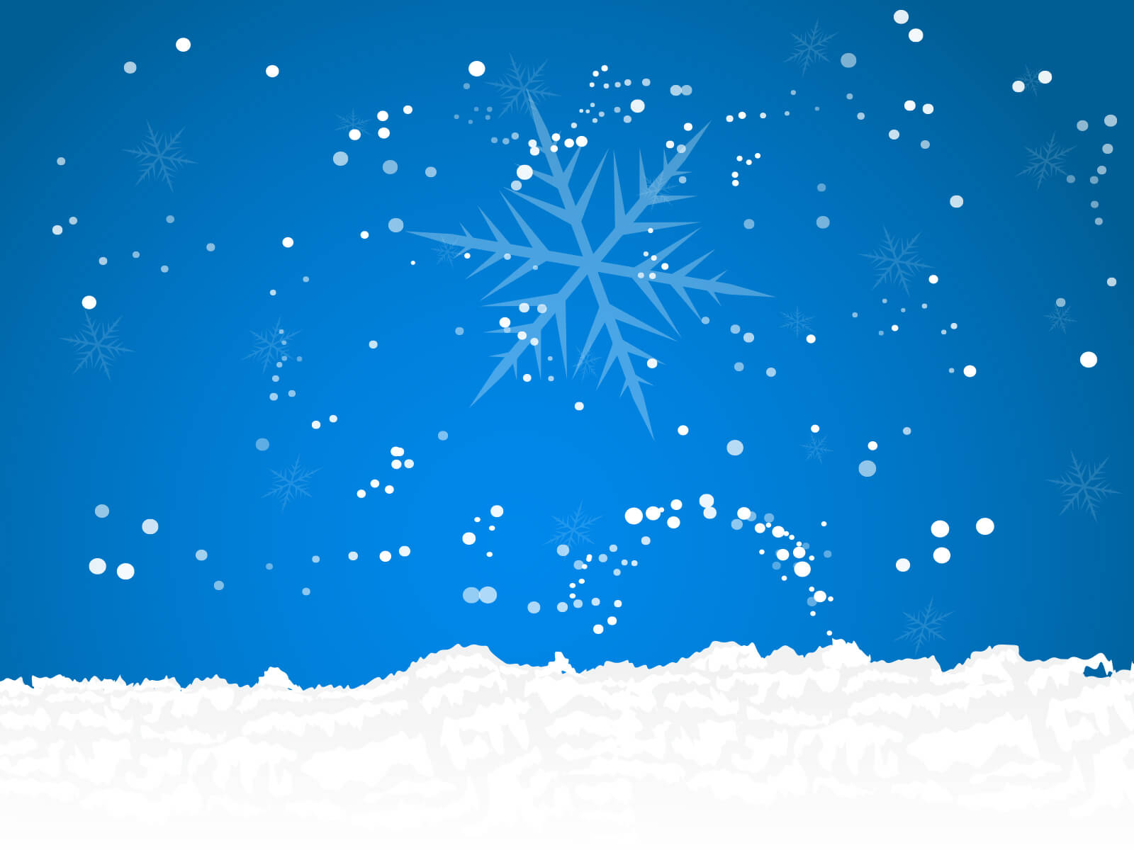 Snow Powerpoint - Free Ppt Backgrounds And Templates Within Snow Powerpoint Template