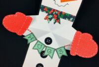 Snowman Twist And Pop Card   Christmas   Diy Christmas Cards for Diy Christmas Card Templates
