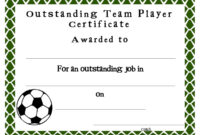 Soccer Award Certificates Template | Kiddo Shelter inside Athletic Certificate Template