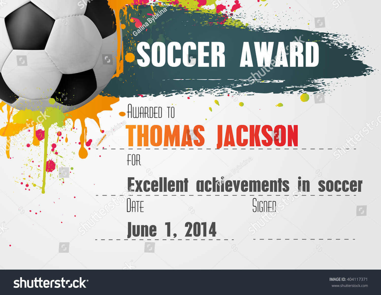 Soccer Certificate Template - Atlantaauctionco for Soccer Certificate Templates For Word
