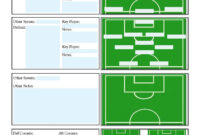 Soccer Scouting Template | Other Designs | Football Coaching for Basketball Scouting Report Template