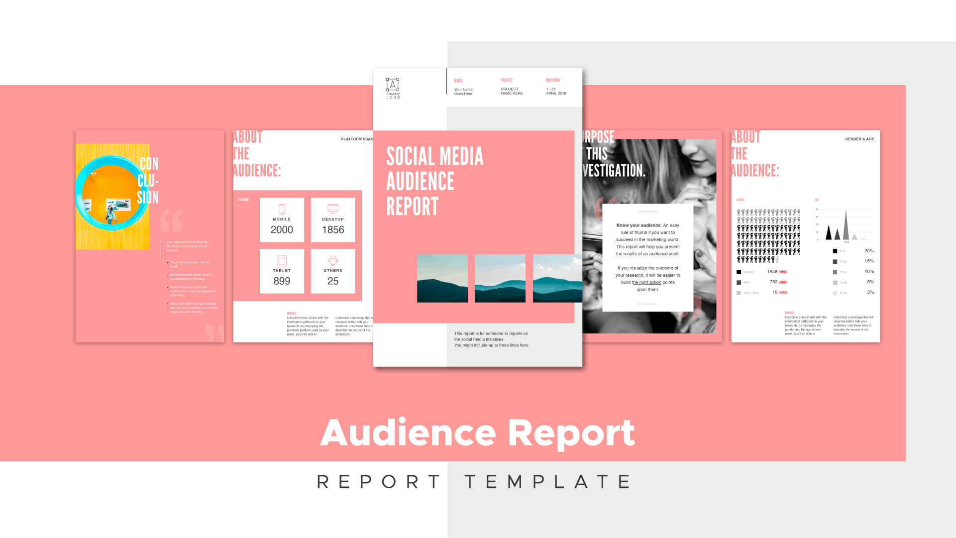 Social Media Marketing: How To Create Impactful Reports With Social Media Report Template