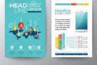 Social Network Concept Brochure Flyer Design Layout Template intended for Social Media Brochure Template