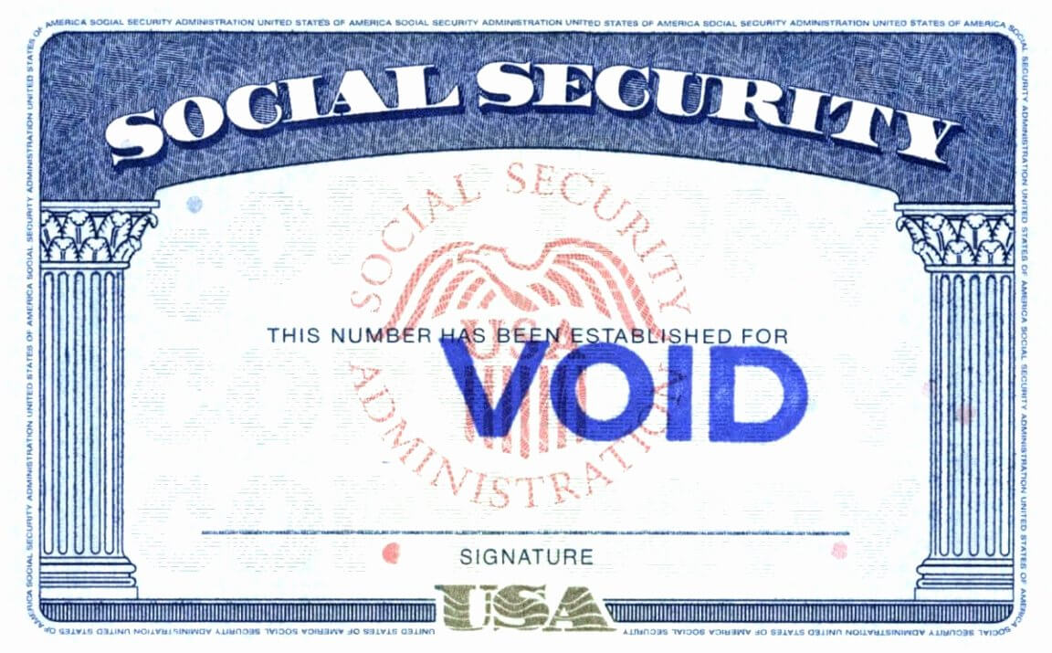 Social Security Card Template Free - Atlantaauctionco for Social Security Card Template Pdf