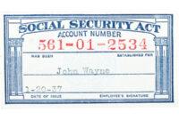 Social Security Card Templates. Social Security Template for Social Security Card Template Free