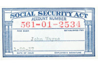 Social Security Card Templates. Social Security Template within Editable Social Security Card Template