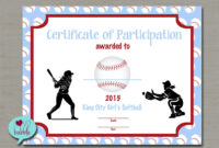 Softball Certificate Templates – Atlantaauctionco intended for Softball Certificate Templates