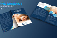 Spa And Massage Bio-Fold Brochure Template – Graphic Reserve inside Membership Brochure Template